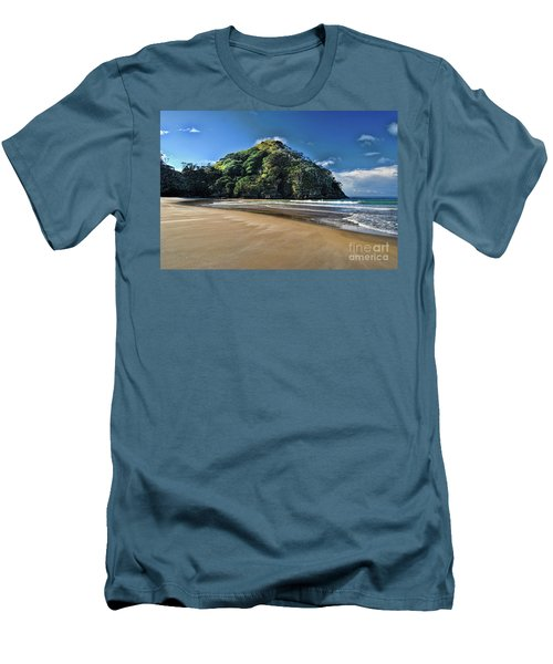 Medlands Beach Men's T-Shirt (Slim Fit) by Karen Lewis