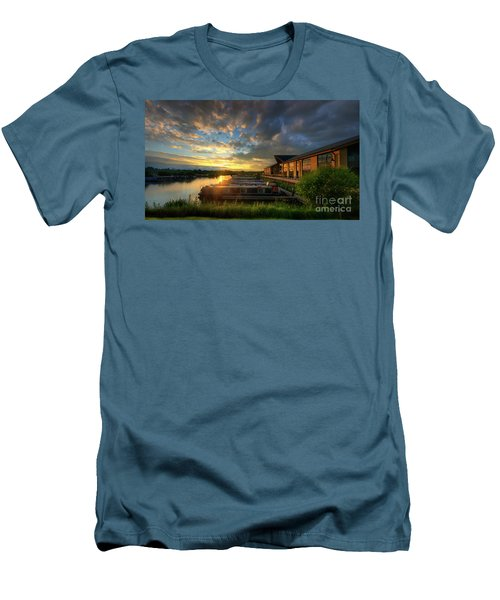 Men's T-Shirt (Slim Fit) featuring the photograph Mercia Marina 10.0 by Yhun Suarez