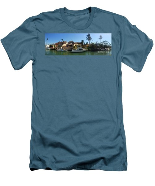 Men's T-Shirt (Slim Fit) featuring the photograph Mexico Memories 5 by Victor K