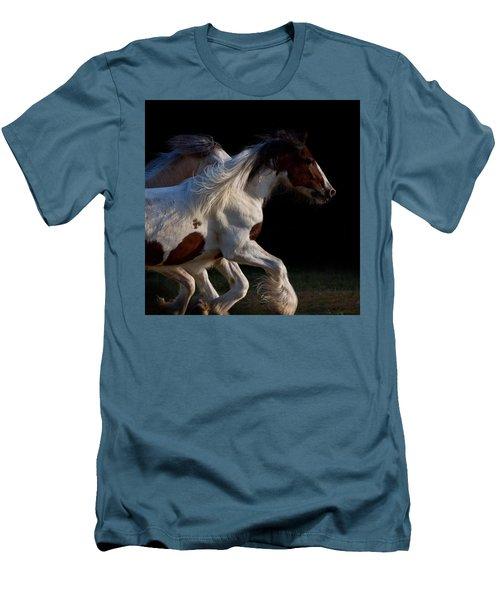 Men's T-Shirt (Slim Fit) featuring the photograph Midnight Run by Sharon Jones