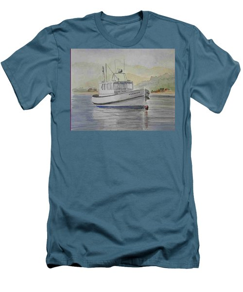 Milkshake Boat Men's T-Shirt (Athletic Fit)