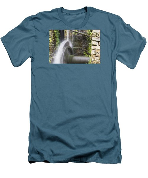 Mill Wheel Men's T-Shirt (Athletic Fit)