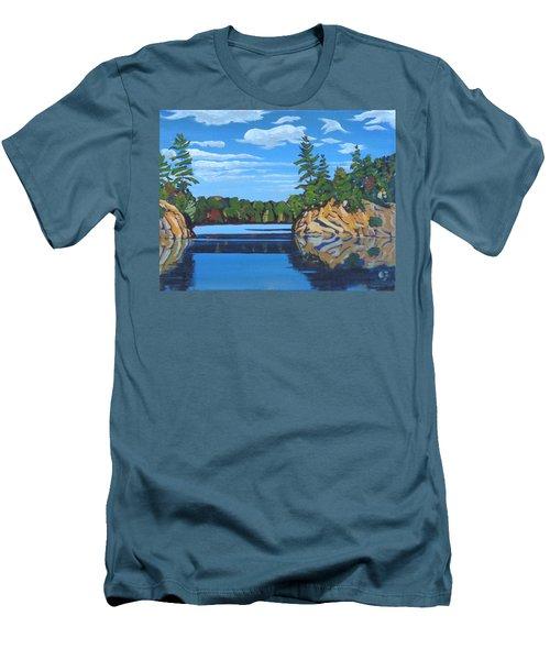 Mink Lake Gap Men's T-Shirt (Athletic Fit)