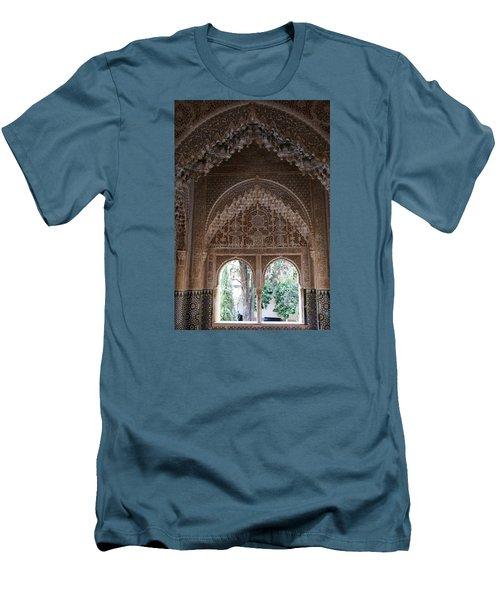 Mirador De Daraxa Men's T-Shirt (Slim Fit) by Christian Zesewitz