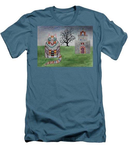 Mission Espada Cat Men's T-Shirt (Athletic Fit)