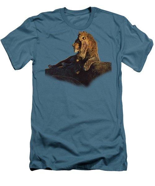 Mister Majestic T Men's T-Shirt (Slim Fit) by David Andersen