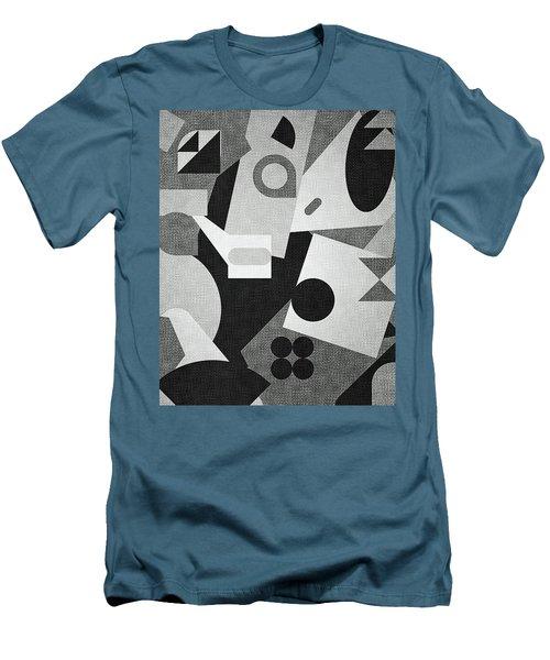 Mod, Grayscale Men's T-Shirt (Athletic Fit)