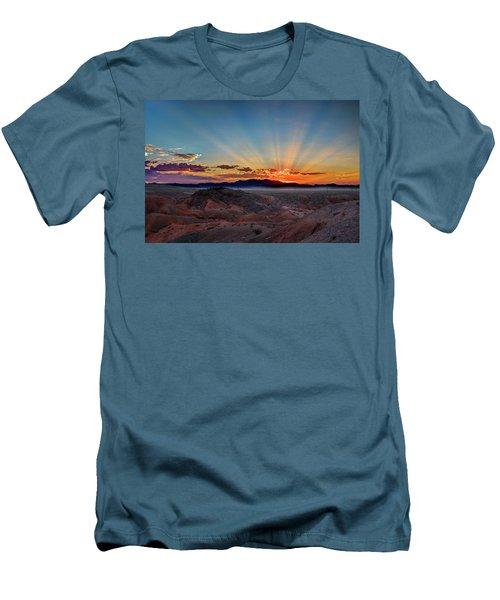 Mohave Sunrise Men's T-Shirt (Slim Fit) by Mark Dunton