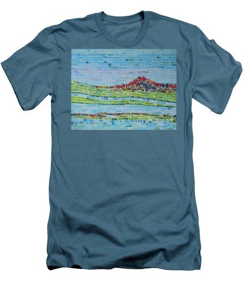 Mole Hill Reborn Men's T-Shirt (Slim Fit) by Judith Espinoza