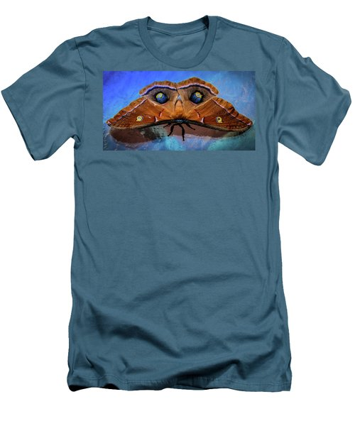 Men's T-Shirt (Slim Fit) featuring the photograph Moments We Cherish by Karen Wiles