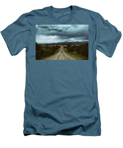 Monsoons From The Meadows Men's T-Shirt (Slim Fit) by Jason Coward