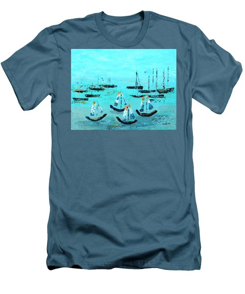 Monterey Boats Men's T-Shirt (Athletic Fit)