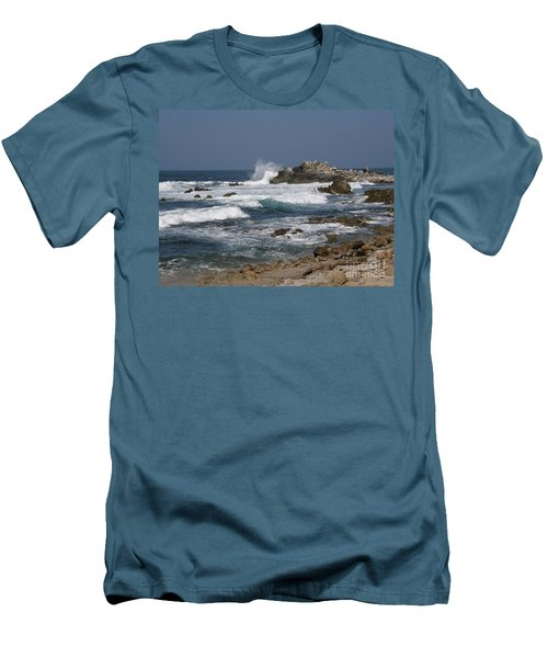 Monterey Coastline Men's T-Shirt (Athletic Fit)