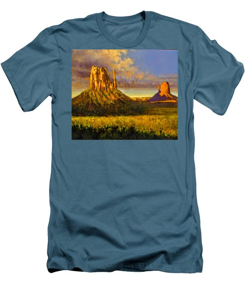 Monument Passage Men's T-Shirt (Athletic Fit)