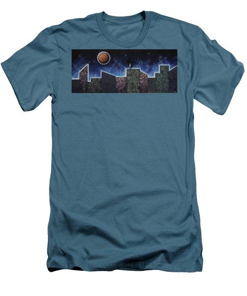 Moon Eclipse Men's T-Shirt (Athletic Fit)