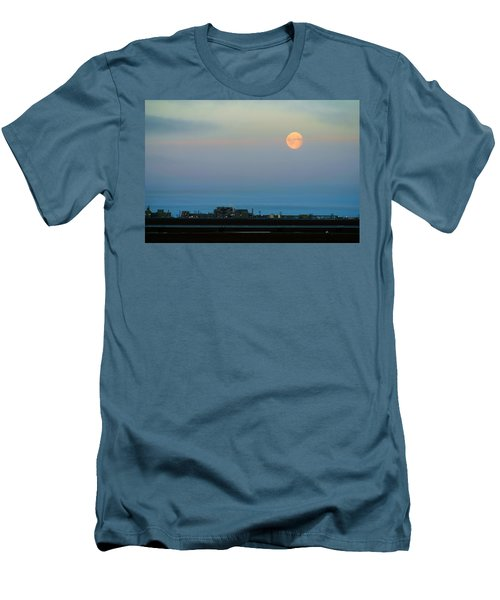 Moon Over Flow Station 1 Men's T-Shirt (Athletic Fit)