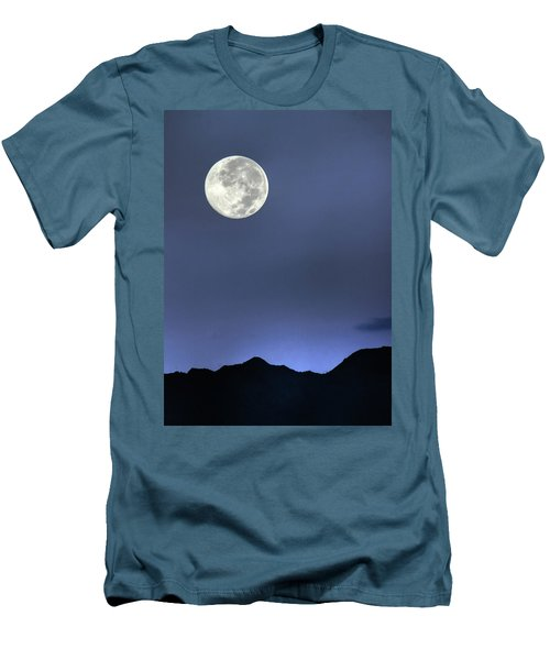Moon Over Ko'olau Men's T-Shirt (Athletic Fit)