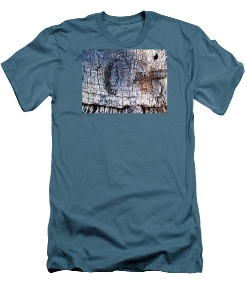 Men's T-Shirt (Slim Fit) featuring the photograph Moon by Vanessa Palomino