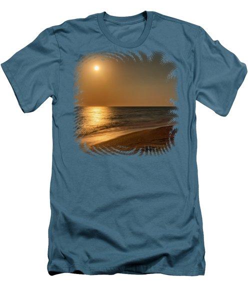 Moonscape 3 Men's T-Shirt (Slim Fit) by John M Bailey