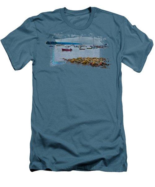 Moorings 2 Men's T-Shirt (Slim Fit) by John M Bailey