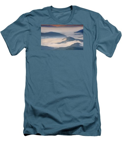 Morning Cloud Colors Men's T-Shirt (Athletic Fit)