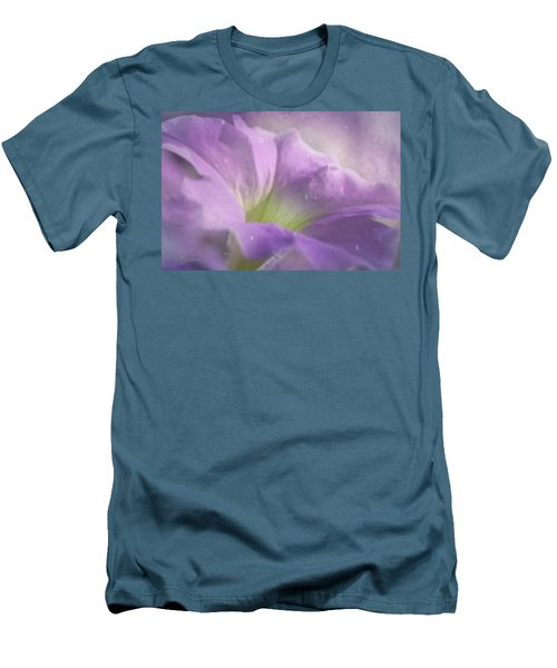 Morning Glory Men's T-Shirt (Slim Fit) by Ann Lauwers