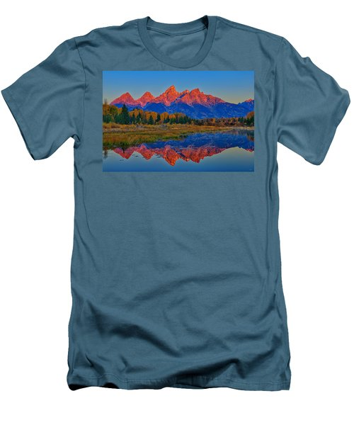 Morning Glow Men's T-Shirt (Slim Fit) by Greg Norrell