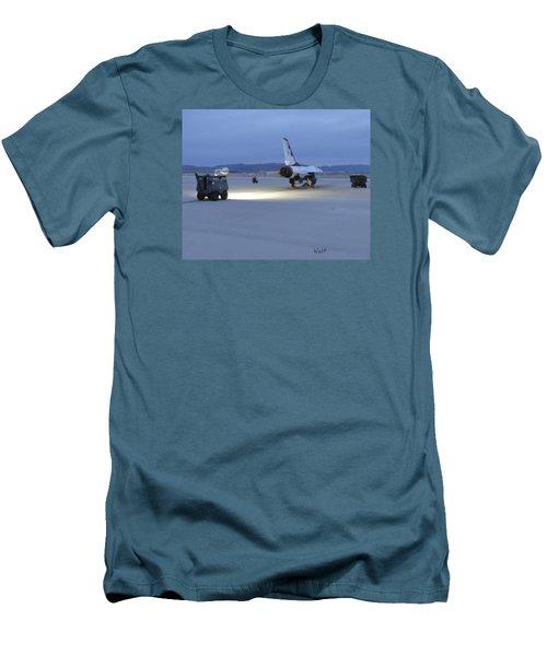 Morning Go Men's T-Shirt (Slim Fit) by Walter Chamberlain