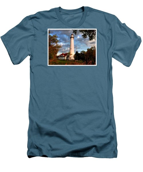 Morning Light On The Light Men's T-Shirt (Slim Fit) by Janice Adomeit