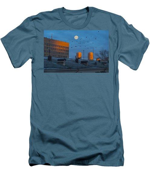 Morning Light Men's T-Shirt (Slim Fit) by Vladimir Kholostykh