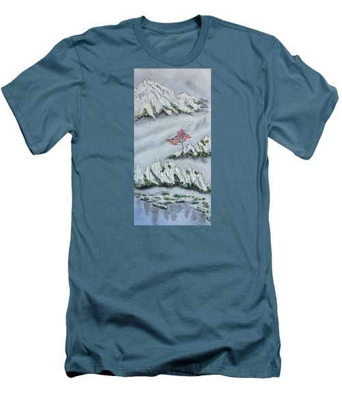 Morning Mist 3 Men's T-Shirt (Athletic Fit)