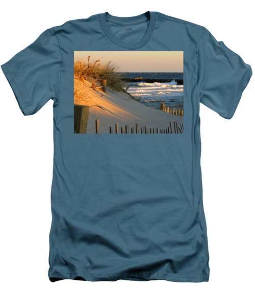 Men's T-Shirt (Slim Fit) featuring the photograph Morning's Light by Dianne Cowen