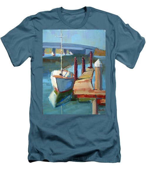 Moss Landing Morning Men's T-Shirt (Athletic Fit)