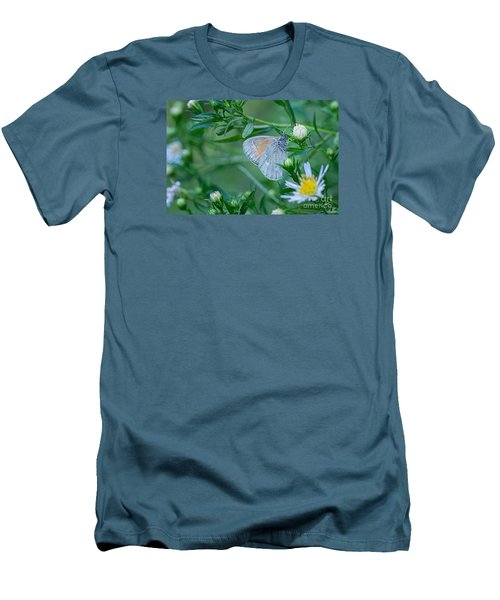 Men's T-Shirt (Slim Fit) featuring the photograph Moth by Alana Ranney