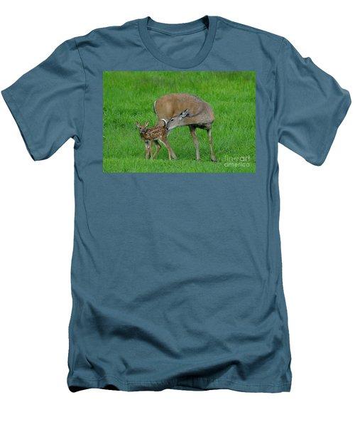 Mother's Love Men's T-Shirt (Slim Fit) by Sandra Updyke