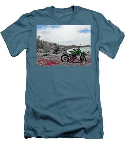Motocross Men's T-Shirt (Athletic Fit)