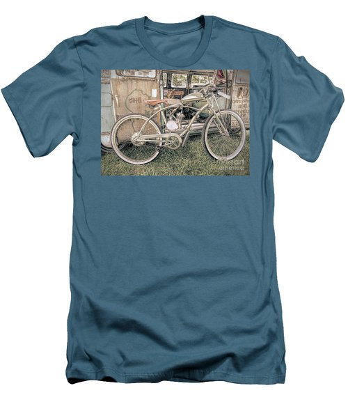 Motorized Bike Men's T-Shirt (Athletic Fit)