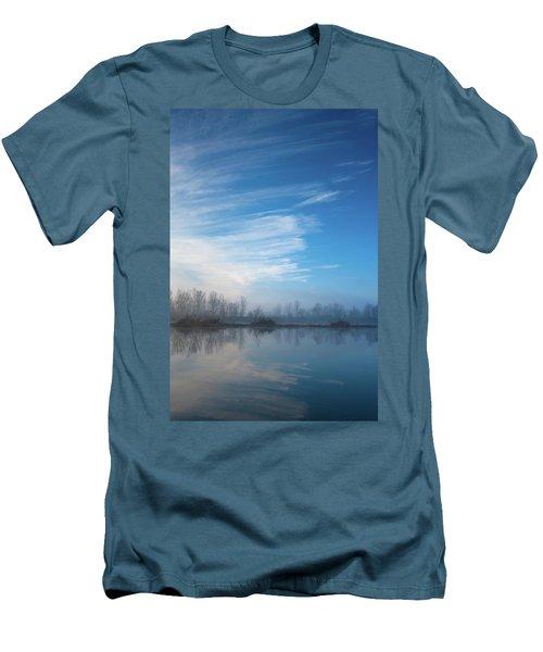 Mottled Sky Men's T-Shirt (Athletic Fit)
