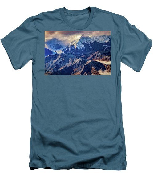 Mount Brooks From Above Men's T-Shirt (Athletic Fit)