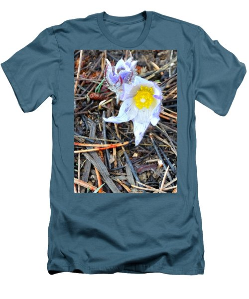 Mount Margaret Spring 14344 Men's T-Shirt (Slim Fit) by Jerry Sodorff