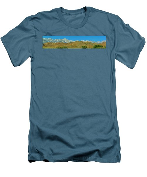 Mount Whitney Panorama Men's T-Shirt (Athletic Fit)