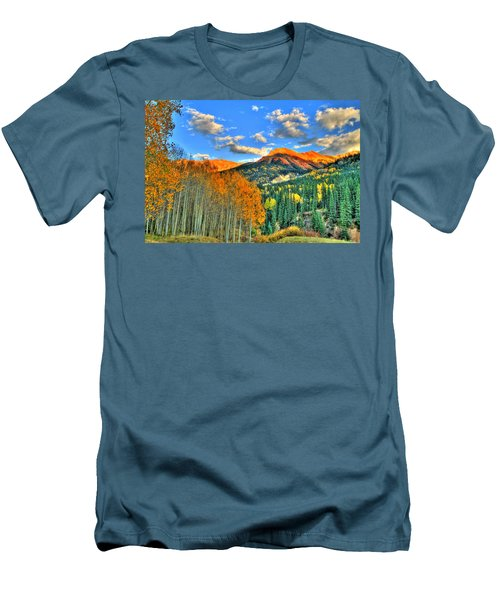 Mountain Beauty Of Fall Men's T-Shirt (Athletic Fit)