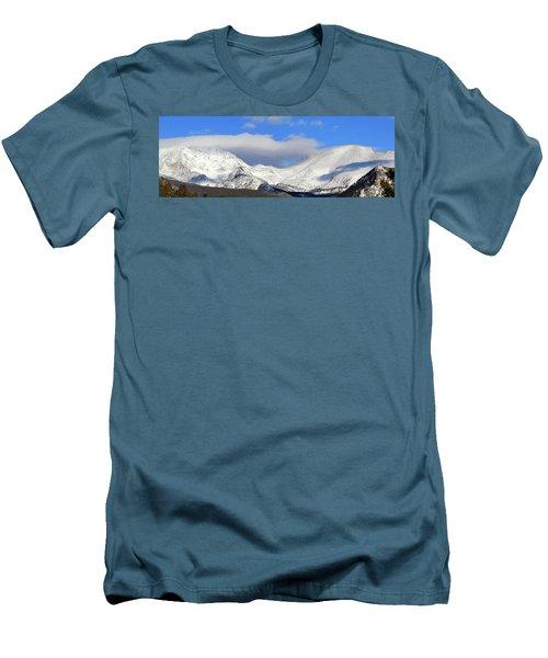 Mountain Peaks - Panorama Men's T-Shirt (Athletic Fit)