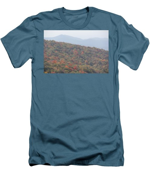 Mountain Range Men's T-Shirt (Athletic Fit)