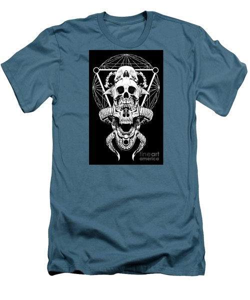 Mouth Of Doom Men's T-Shirt (Slim Fit) by Tony Koehl