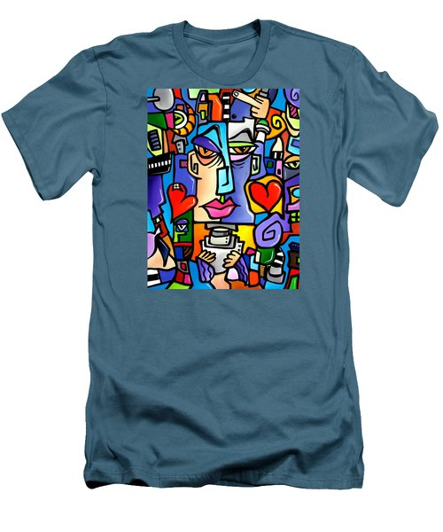 Mr Roboto Men's T-Shirt (Athletic Fit)