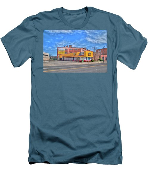 Men's T-Shirt (Slim Fit) featuring the photograph Mr Tire 15117 by Guy Whiteley
