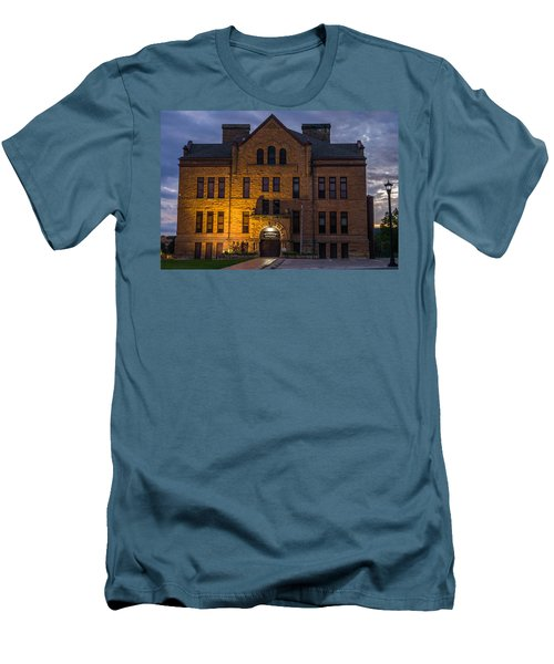Museum Men's T-Shirt (Slim Fit) by Jerry Cahill