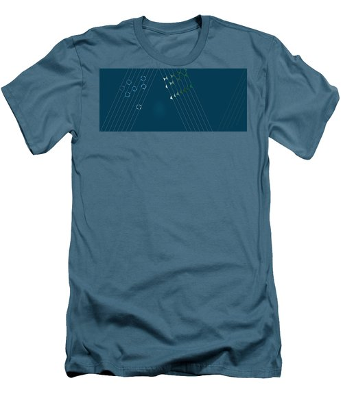 Music Hall Men's T-Shirt (Slim Fit) by Kevin McLaughlin