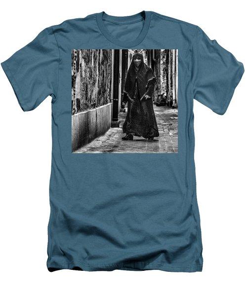 Muslim Women In Palermo Men's T-Shirt (Slim Fit) by Patrick Boening